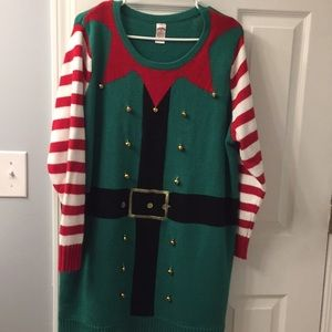 Christmas ugly sweater/size 2x 18/20